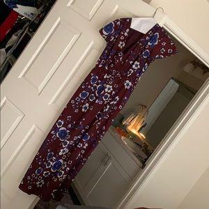 Long dress w/belt